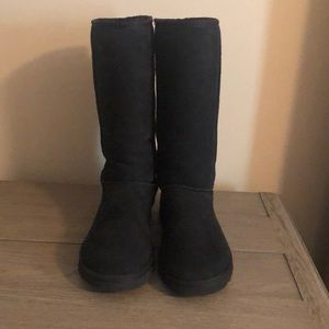 TALL BLACK CLASSIC UGG BOOTS